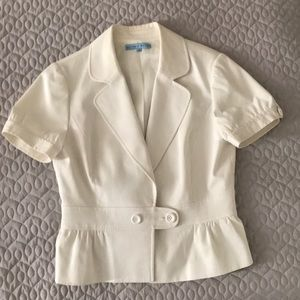 Antonio Melani size 8 white jacket